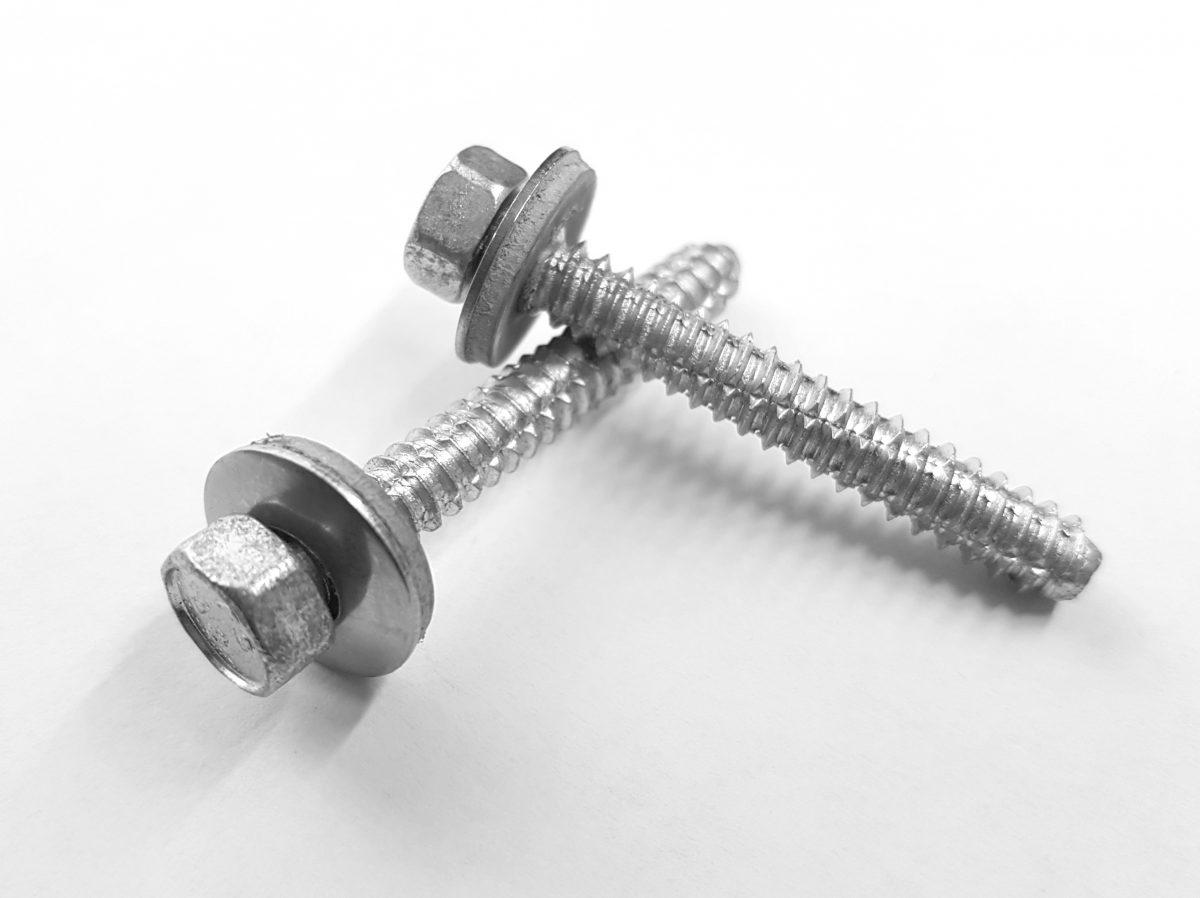 Fassadenschrauben für Metall